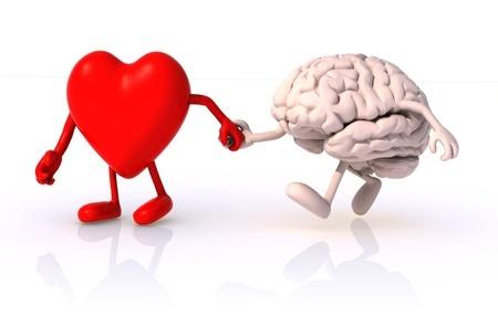 heart leading brain