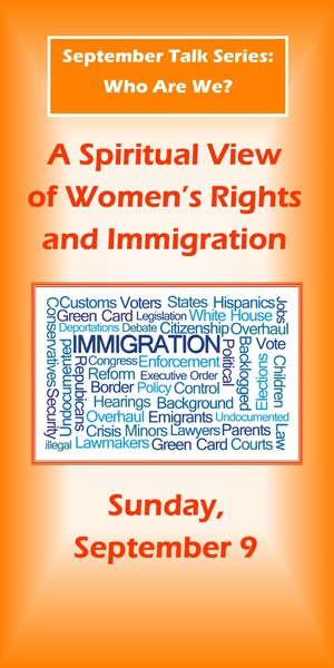 message women and immigration
