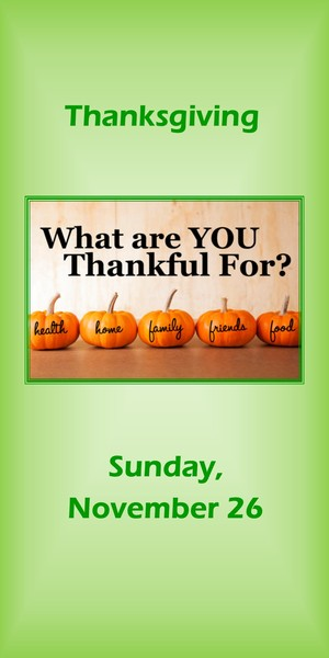 message thanksgiving 2017