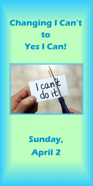 message yes I can