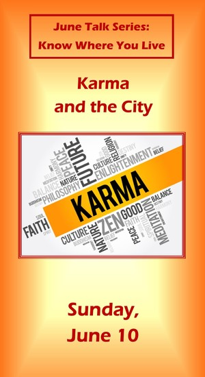 messge karma and the city