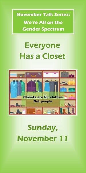 message everyone has a closet